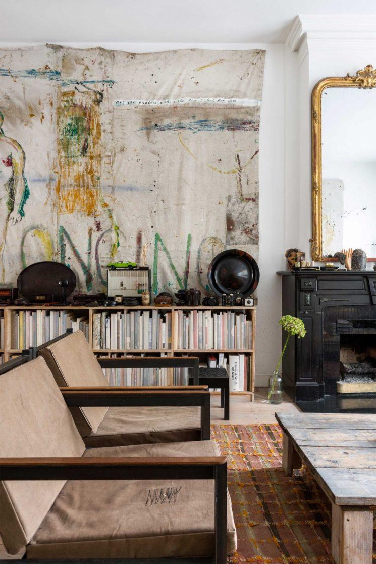 un int rieur boh me amsterdam. Black Bedroom Furniture Sets. Home Design Ideas