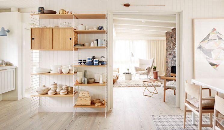 Déco basique, camaïeu de tons clairs || L'intérieur de Simone Haag