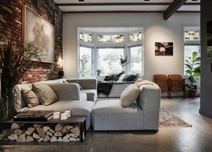 La maison de Casper Faasen par l'architecte Jeroen van Zwetselaar, SW6