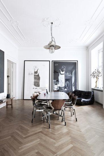 Cultissime canapé Togo Ligne Roset | Busks Copenhague appartement