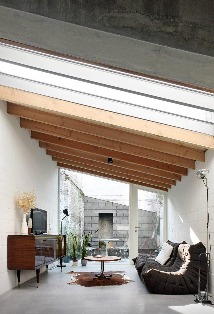 Cultissime canapé Togo Ligne Roset | Casa 12k Dierendonck Blancke architecten