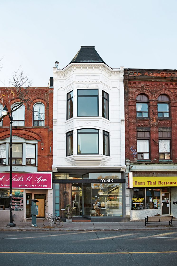 La maison de Juli Daoust et John Baker, fondateurs de Mjölk à Toronto