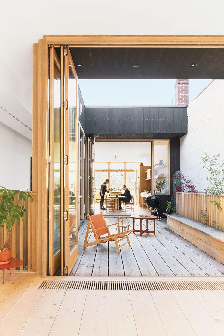 Mj lk c t maison - Maison moderne toronto par studio junction ...