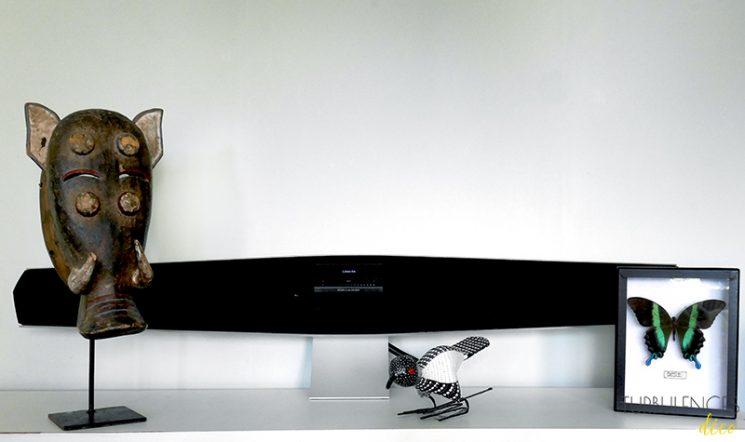 Test d'une enceinte design Bang & Olufsen - BeoSound 35 - Turbulences Déco