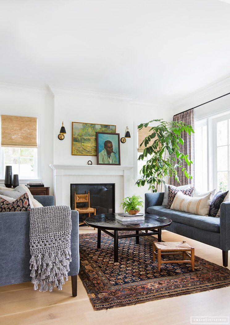 Inspiration déco : tapis ethniques | Amber Interior Design - Rad trad project
