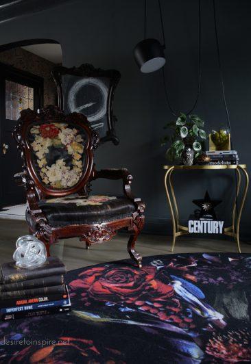 La possibilité des couleurs en décoration | Le salon transformé de la blogueuse Kim de desiretoinspire