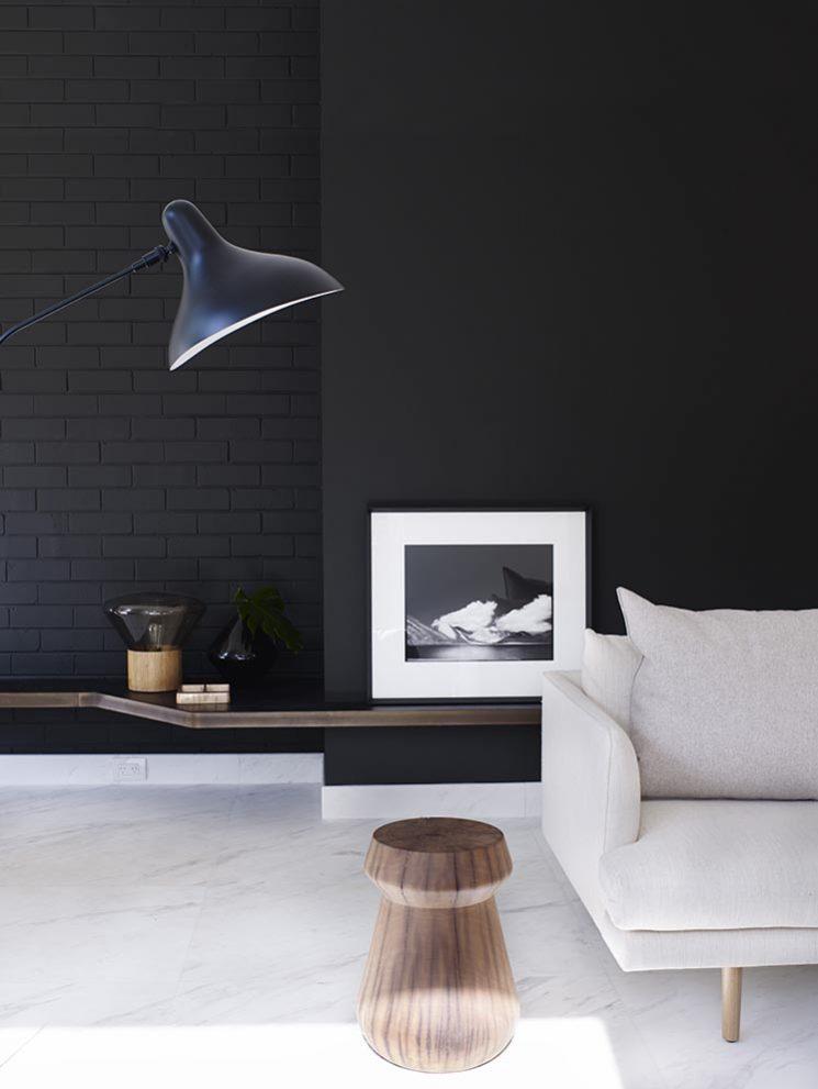 Le pouvoir du noir et blanc contemporain | Cronulla Residence par Amber Road design
