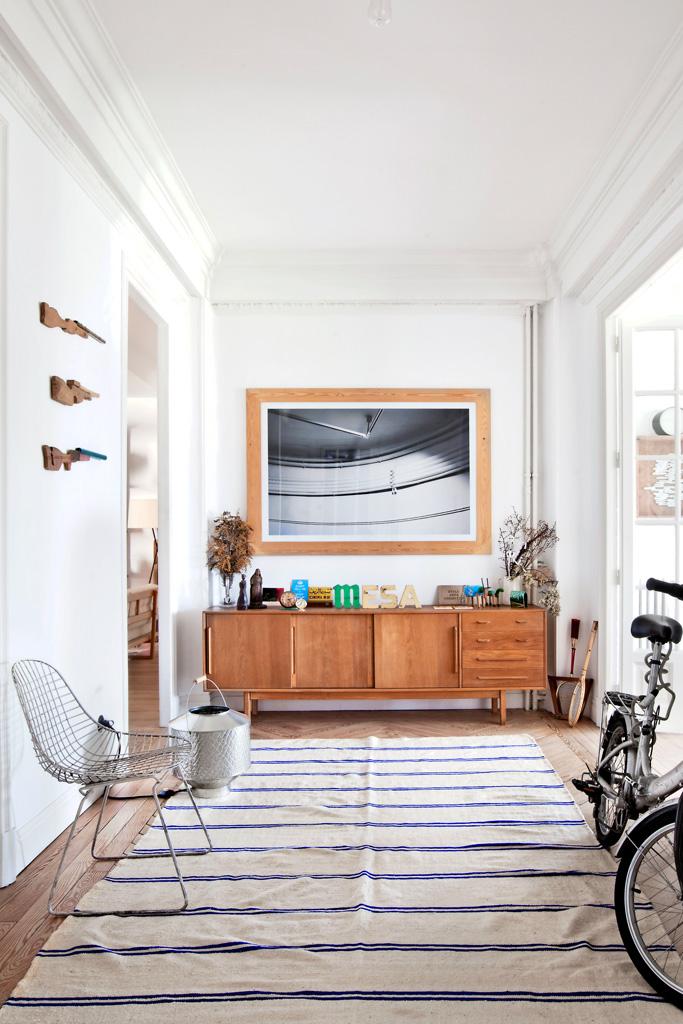 Inspiration déco : tapis ethniques | L'appartement de Luis Úrculo à Madrid