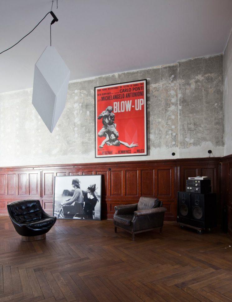 Un appartement classique à la déco dépouillée à Berlin