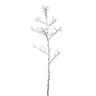 Maisons du Monde - Branche d'arbre à coton artificielle effet enneigé