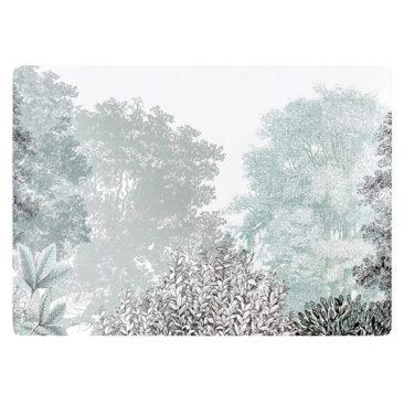 Maisons du Monde - Set de table en liège imprimé paysage d'hiver