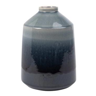Maison du Monde - Vase en grès bleu marine