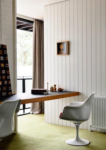 Habiller ses murs de bois | Murs en lambris contemporain
