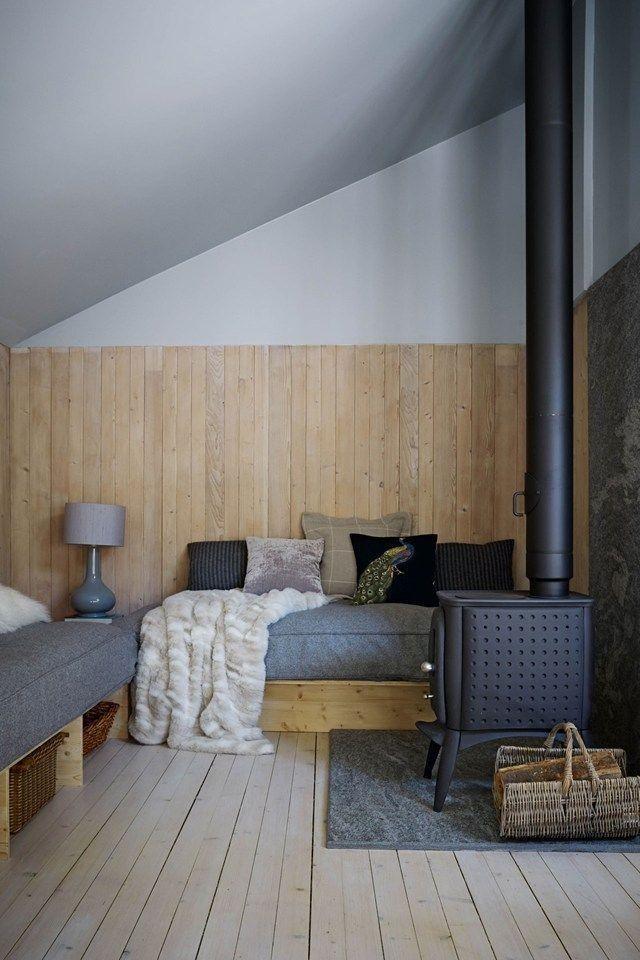 id es d co habiller ses murs de bois. Black Bedroom Furniture Sets. Home Design Ideas