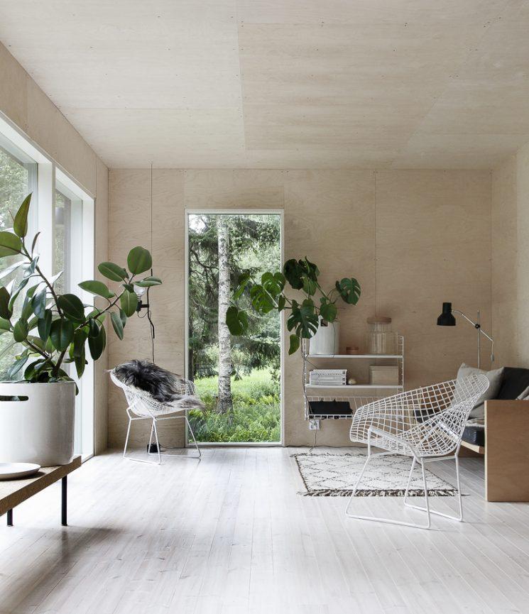 22 Scandinavian Home Office Designs Decorating Ideas: [ Idées Déco ] Habiller Ses Murs De Bois