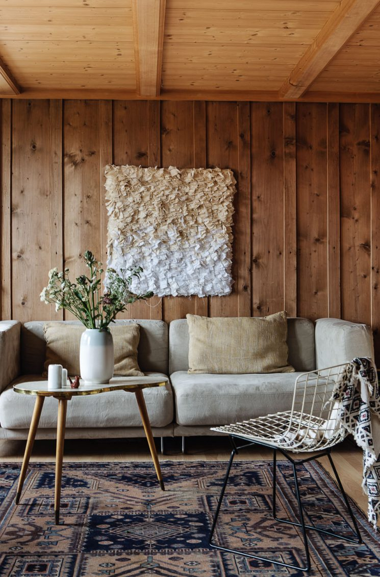 Id es d co habiller ses murs de bois for Idee deco grand mur salon