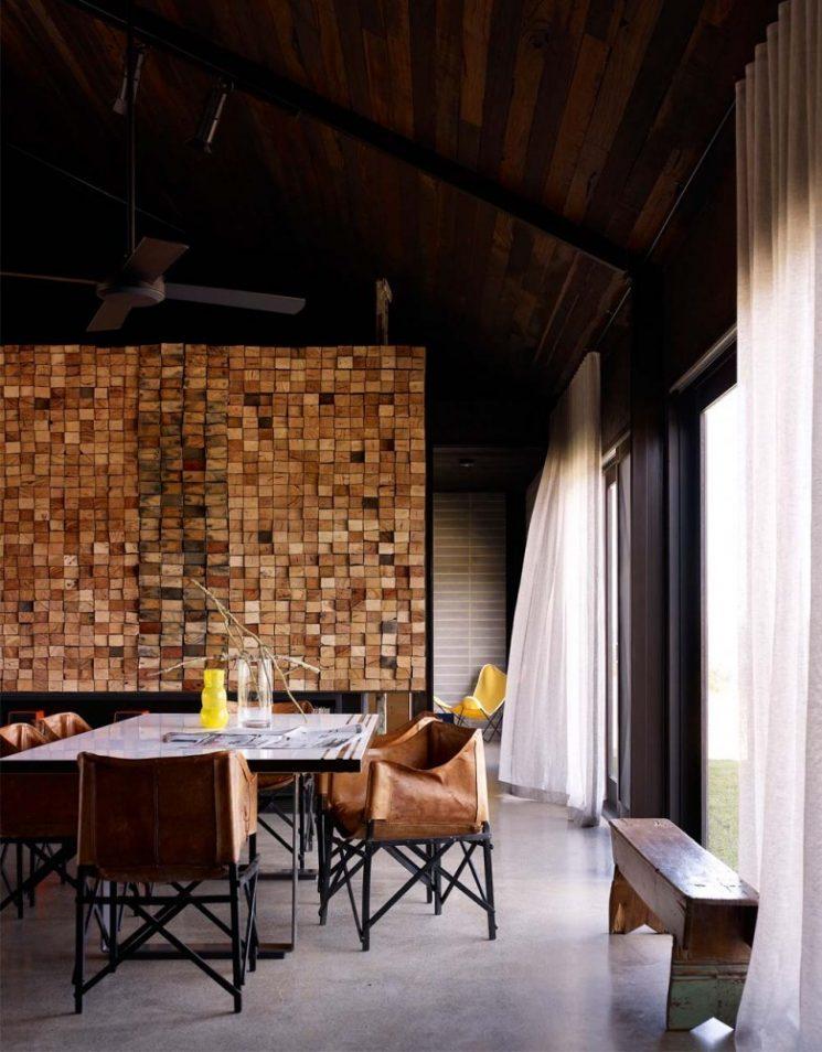 Idees Deco Habiller Ses Murs De Bois Turbulences Deco