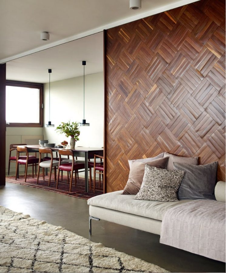 habillage mur interieur en bois amazing habillage mur. Black Bedroom Furniture Sets. Home Design Ideas