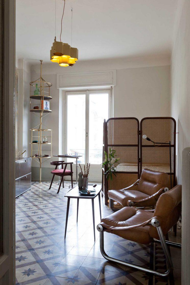 L'appartement de Pietro Russo à Milan