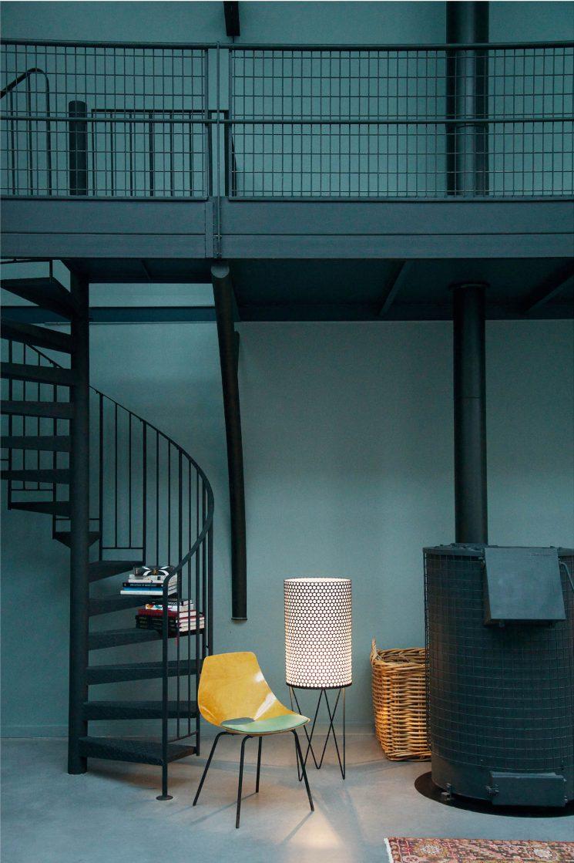 Encore un loft immense... Maison M par l'architecte Cécile Halley des Fontaines