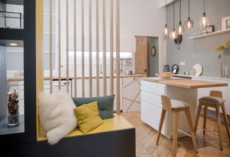 Projet home sweet home place sathonay à lyon réalisation de marion lanoe architecte