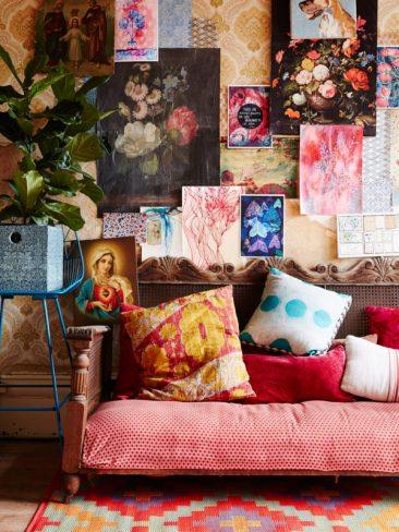 Inspiration déco : tapis ethniques | La maison de Peter et Paula Mills & family à Melbourne