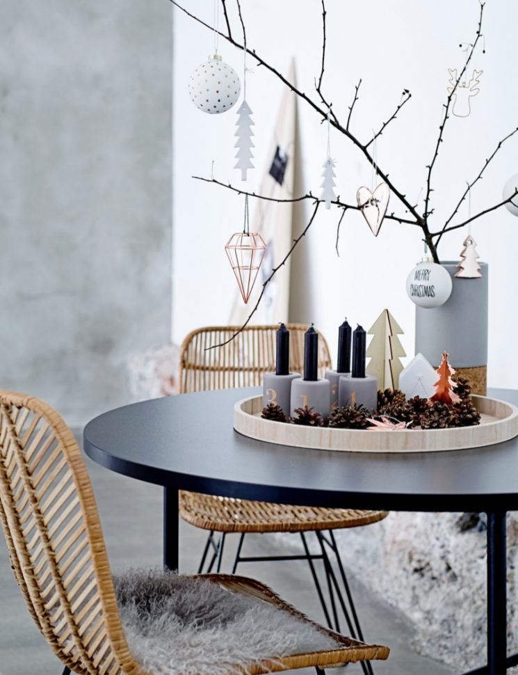 Réussir un décor de Noël scandinave - Catalogue Bloomingville