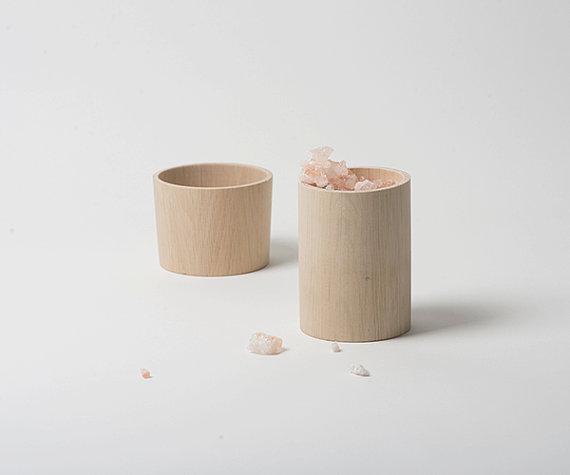 Boîtes en bois de hêtre - Boutique Etsy Golden Biscotti
