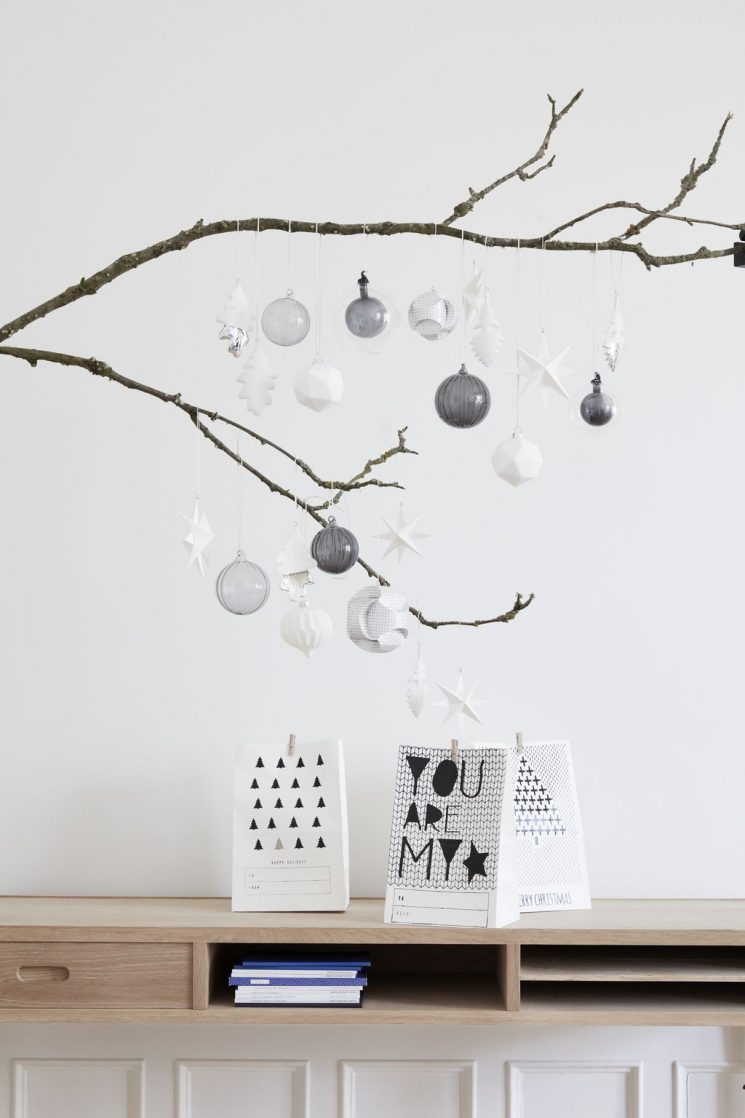 Réussir un décor de Noël scandinave - Catalogue Hübsch interior