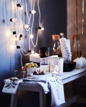 Ikea - Catalogue de Noël 2016 | Idée de lumières de Noël