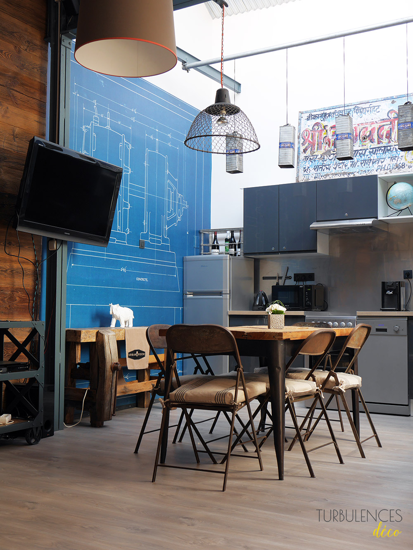 Ancien garage Méridien à Lyon - Visite privée de l'espace Urban Room - Turbulences Déco