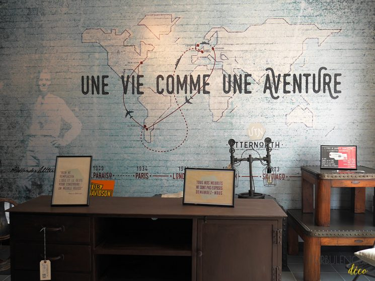 Visite-tour de la boutique Utternorth à Lyon | Turbulences Déco
