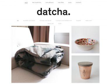 Sélection de boutiques en ligne pour vos cadeaux de Noël - Datcha