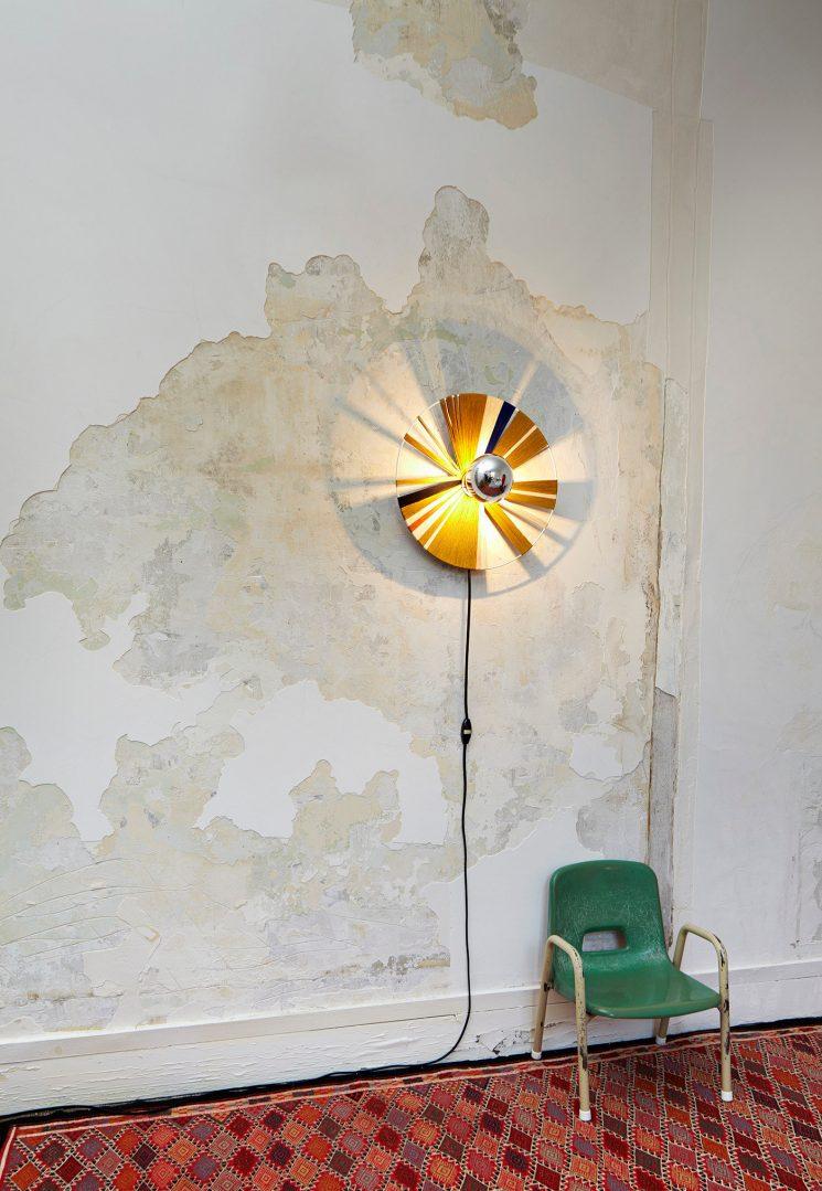 Lumière ! 16 luminaires design à réaliser soi même par Le Grand Appartement || Lampe murale Grâce