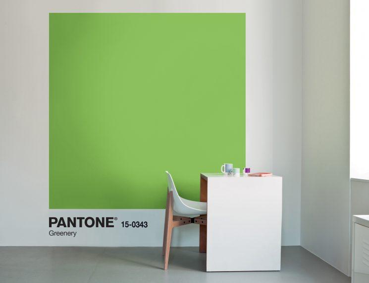 Greenery Couleur de l'année Pantone 2017