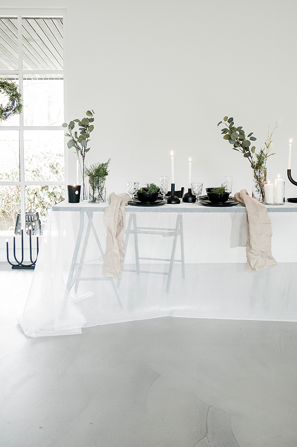 inspiration d co un no l minimaliste. Black Bedroom Furniture Sets. Home Design Ideas