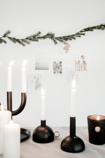 Décoration de Noël minimaliste par April and May pour Ikea