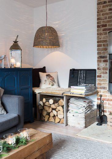 La maison de campagne de Kay Prestney dans le Sussex anglais sous influence scandinave