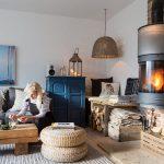 Une maison de campagne anglaise sous influence scandinave