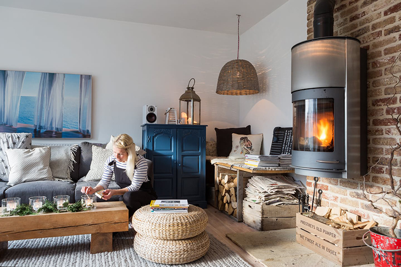 Une maison de campagne anglaise sous influence scandinave for Decoration maison a l anglaise