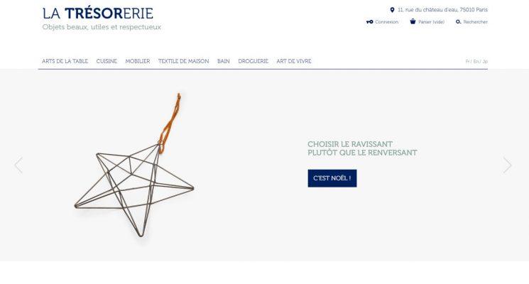 Sélection de boutiques en ligne pour vos cadeaux de Noël - La Trésorerie