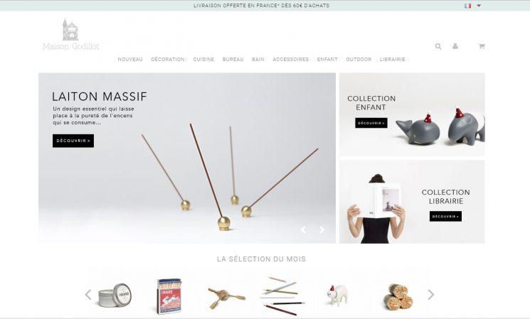 Sélection de boutiques en ligne pour vos cadeaux de Noël - Maison Godillot