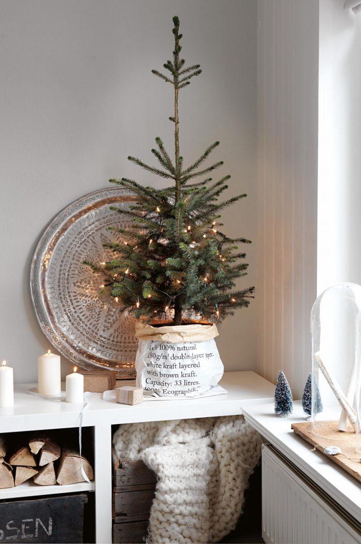 Inspiration déco - Ambiance de Noël blanc, bien au chaud
