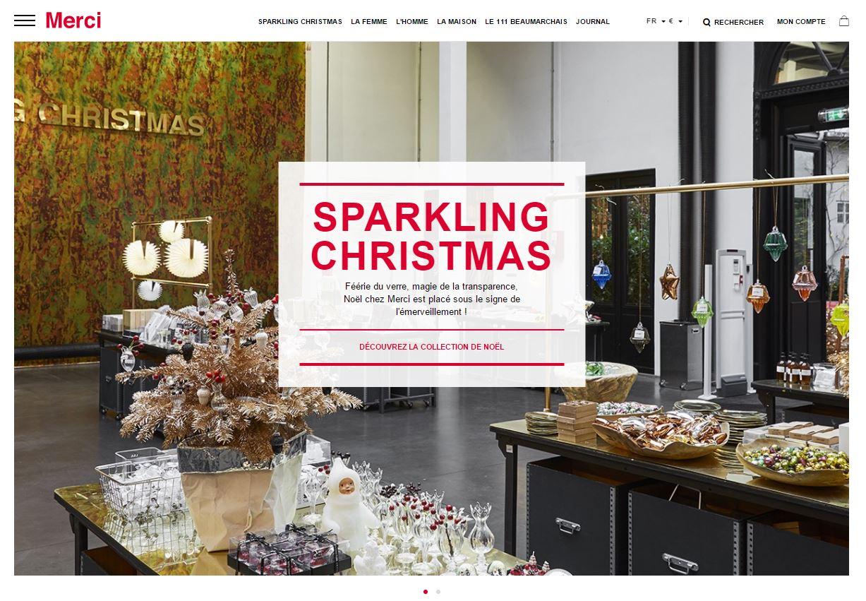 Sélection de boutiques en ligne pour vos cadeaux de Noël - Merci Paris