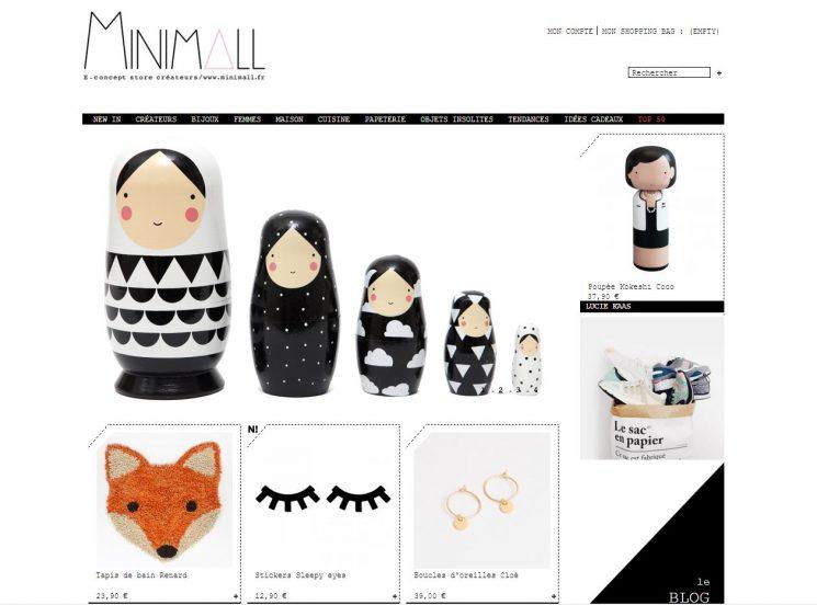 Sélection de boutiques en ligne pour vos cadeaux de Noël - Minimall