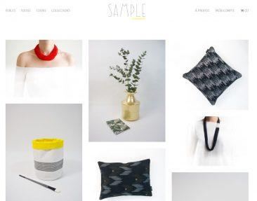 Sélection de boutiques en ligne pour vos cadeaux de Noël - Sample Concept