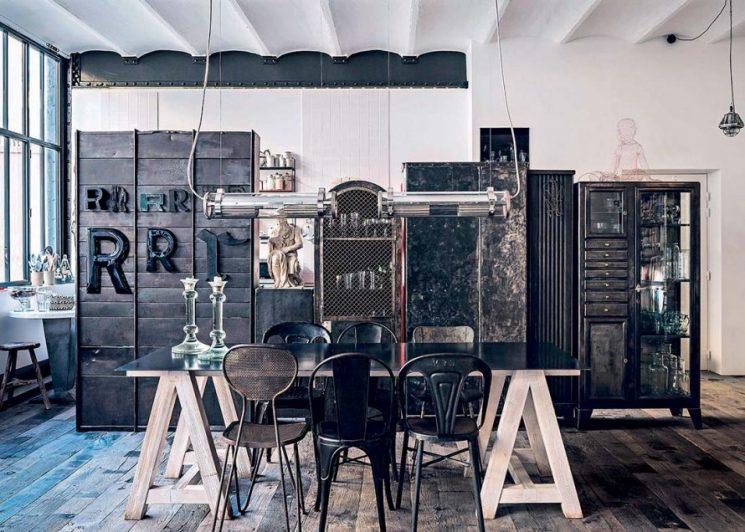 Un certain style Merci - Le loft parisien de Daniel Rozensztroch