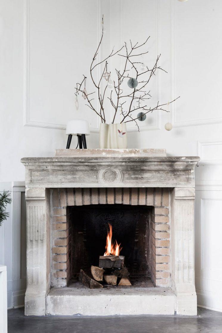 Décoration de Noël minimaliste pour la famille Bjerre Poulsens jul