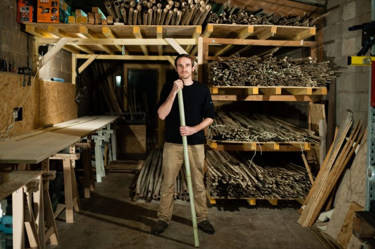 Déambulons, des structures cocon en bambou | L'atelier de Jean-Baptiste