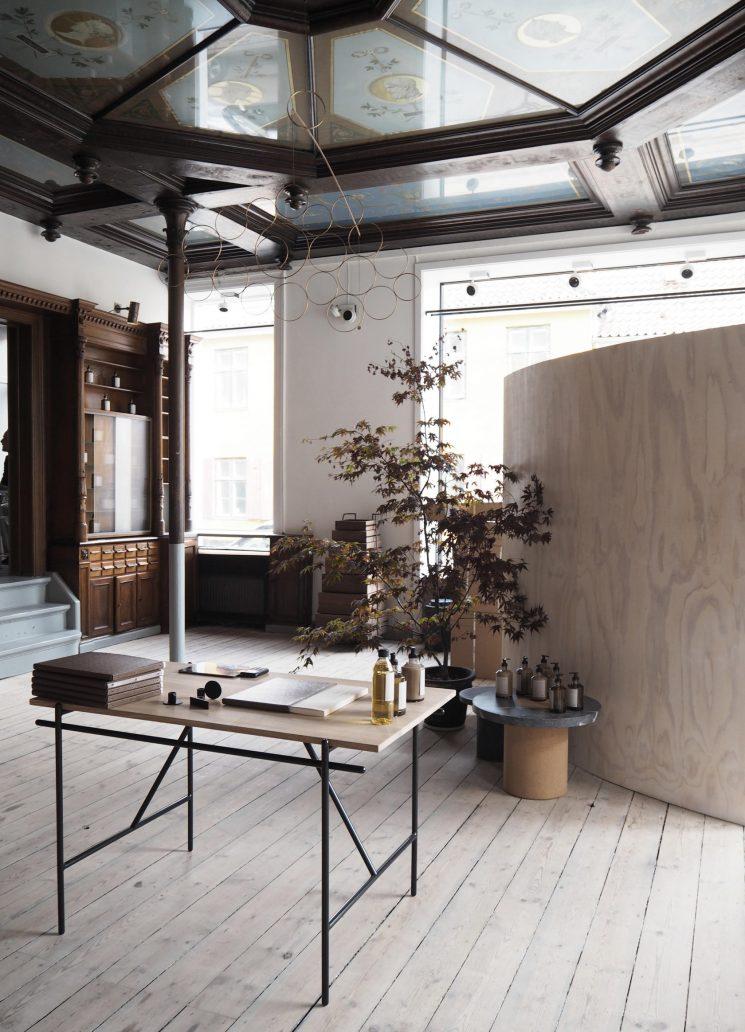 Le showroom de Frama, St. Pauls Apotek à Copenhague
